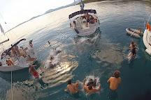 Sailing Ionian Sea, Lefkada Town, Greece