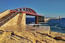 Breakwater Bridge, Valletta, Malta
