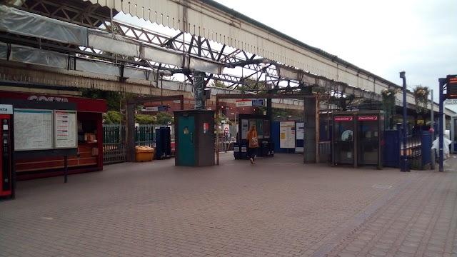 Ealing Broadway London Underground Station