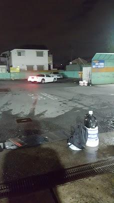 Auto clean Plaza Okudo