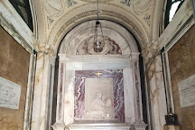 Dante's tomb and Quadrarco of Braccioforte, Ravenna, Italy