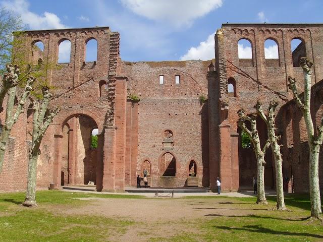 KONRAD2 auf der Klosterruine Limburg in Bad Dürkheim