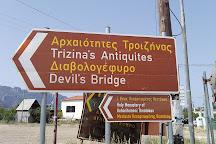 Devil's Bridge, Galatas, Greece