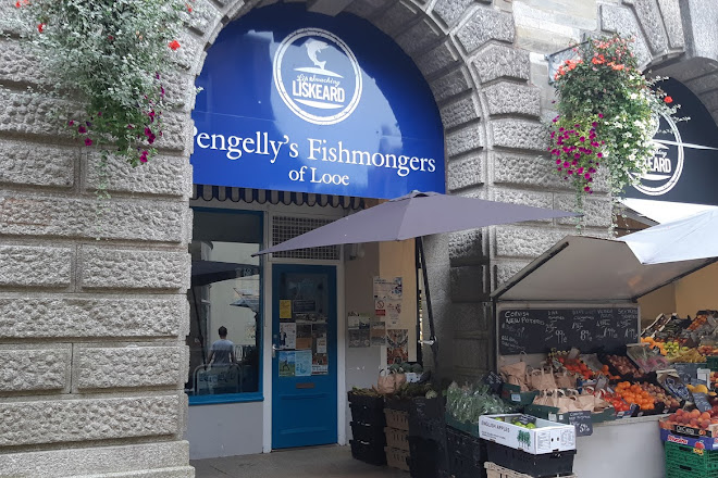Pengelly's fishmongers, Looe, United Kingdom