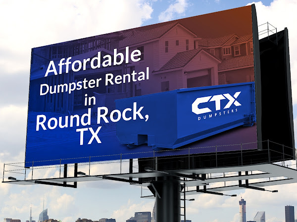 Round Rock Dumpster Rental - CTX Dumpsters