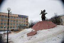 Monument to Evpatiy Kolovrat, Ryazan, Russia