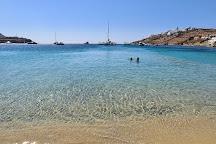 Ornos Beach, Ornos, Greece