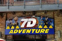 7D Dark Ride Adventure, Gatlinburg, United States