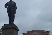 Monument Mashrooms With Eyes, Ryazan, Russia