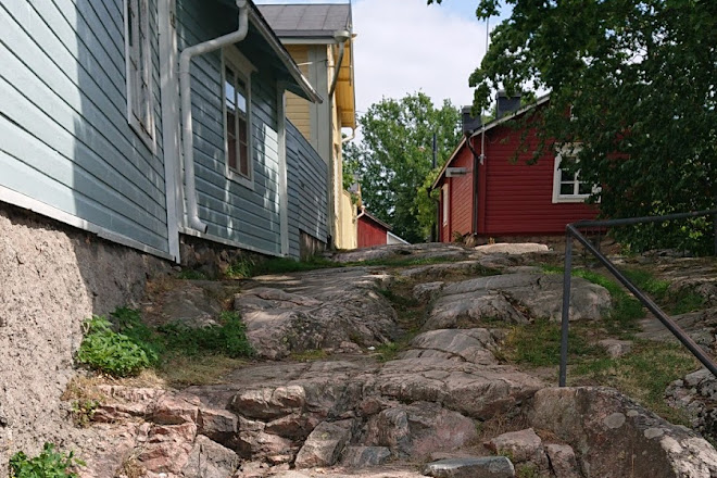 The Devil's Stairs, Porvoo, Finland