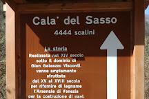 Cala del Sasso, Valstagna, Italy