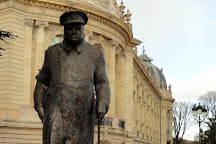 Statue de Winston Churchill, Paris, France