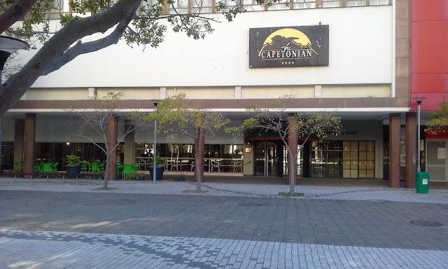 Capetonian hotel parking