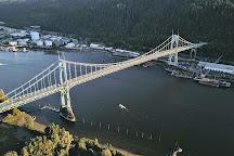 St. Johns Bridge, Portland, United States