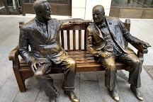 Churchill And Roosevelt Allies Sculpture, London, United Kingdom