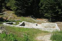 Tonovec Castle, Kobarid, Slovenia