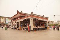 西安火车站广场