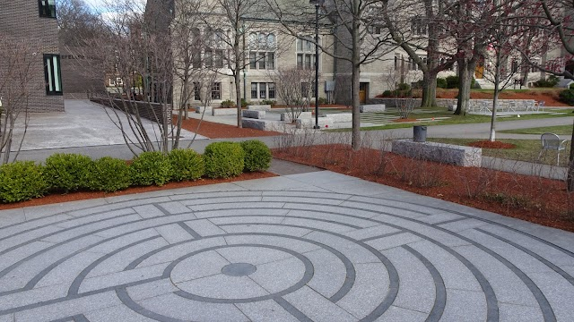 Labyrinth and Contemplative Garden at Harvard Divinity School