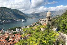 Kotor Old Town City Walls & Fortress, Kotor, Montenegro