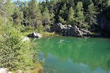 La Lauziere du lac Bleu, Champclause, France