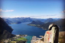 Romsdalseggen, Andalsnes, Norway