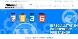 Zonadeweb, empresa diseño web Valencia
