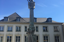 Monument of Dicks and Lentz, Luxembourg City, Luxembourg