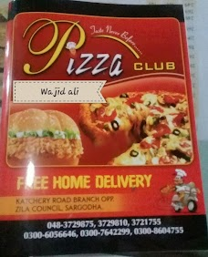 Pizza Club Old Branch sargodha