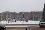 Памятник Ленину на фото Гомеля