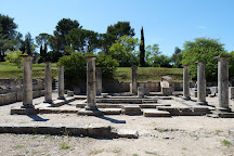 Site Archeologique de Glanum, Saint-Remy-de-Provence, France