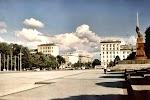 Piața Marii Adunări Naționale на фото Кишинёва