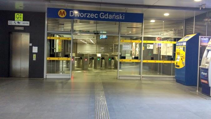Dworzec Gdański, Author: Marcin Walewski