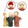 Бибабо кукла-перчатка би-ба-бо, Настасьинский переулок на фото Москвы