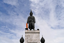 Statue of King Narai the Great, Lop Buri, Thailand