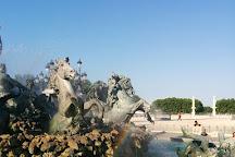 Quinconces Esplanade (Esplanade des Quinconces), Bordeaux, France