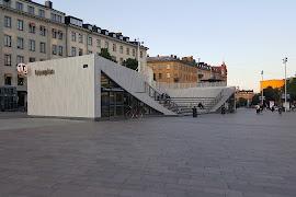 Железнодорожная станция  Stockholm Odenplan