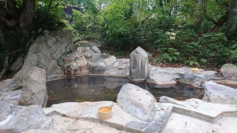 雨飾高原 露天風呂