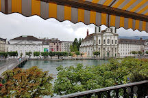 Chapel Bridge (Kapellbrucke), Lucerne, Switzerland