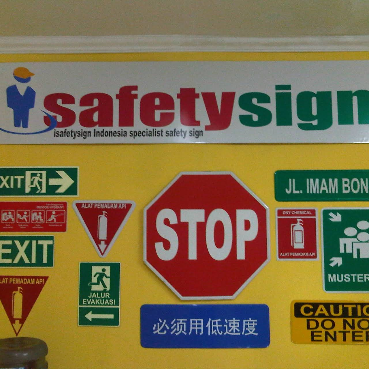 Isafetysign Safety Sign Indonesia Safety Equipment Supplier