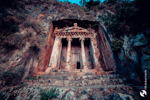 Ancient Rock Tombes, Fethiye, Turkey
