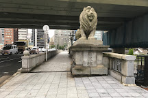 Naniwa Bridge, Osaka, Japan