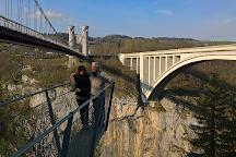 Pont de la Caille, Cruseilles, France