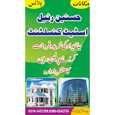 Hasnain Real Estate Consultant