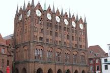 Stralsunder Rathaus, Stralsund, Germany