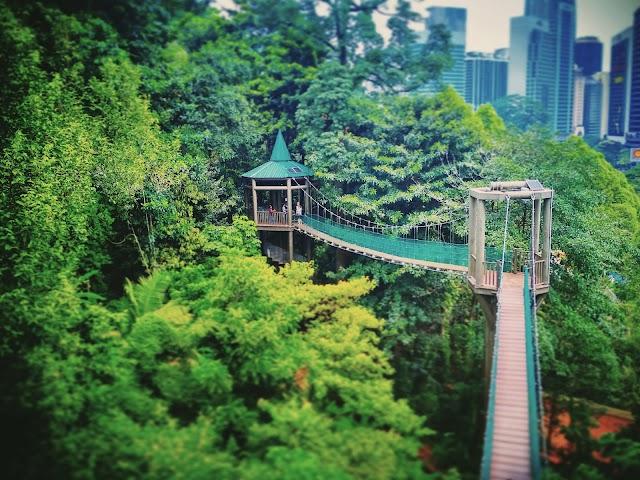 Entrance to Kuala Lumpur Forest Eco Park (Taman Eko Rimba KL)