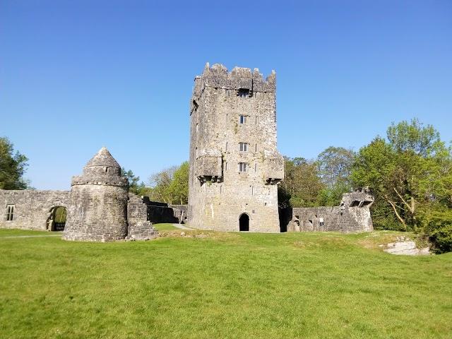 Aughanure castle