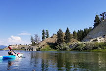 Columbia River Paddle, Invermere, Canada