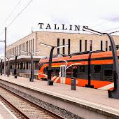 Железнодорожная станция  станции  Tallinn