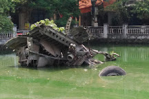 Huu Tiep Lake and the Downed B-52, Hanoi, Vietnam