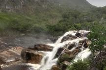 Cachoeira Carioquinhas, Vila de Sao Jorge, Brazil